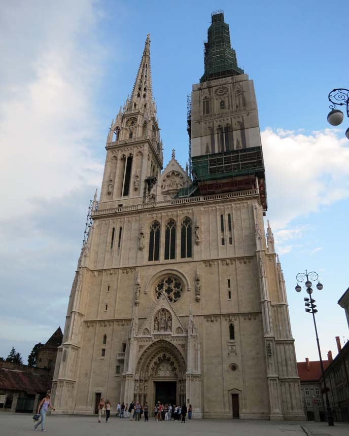 zagreb cathedral, croatian church