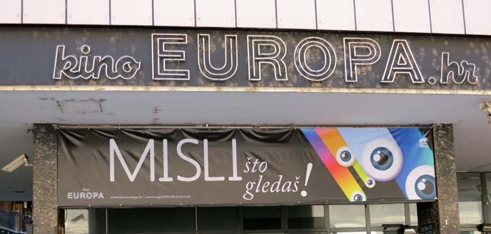 kino europa, zagreb croatia movie theater