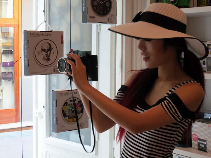 hipster camera, hipster girl hat