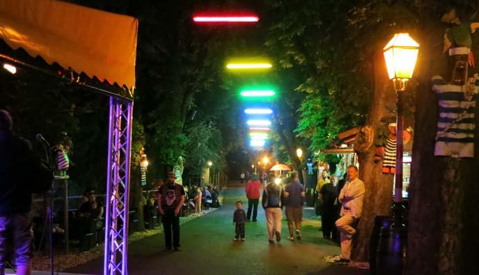 Strossmartre zagreb, outdoor concerts