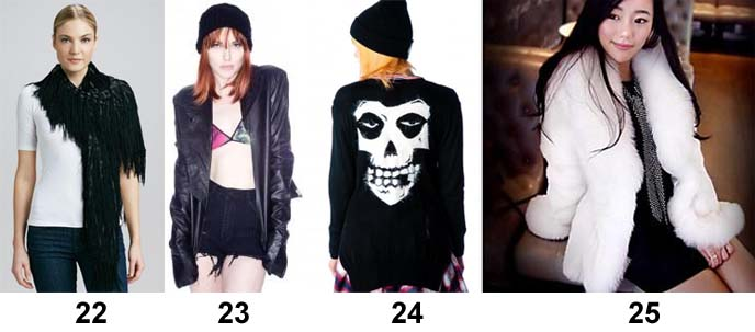 skull goth sweater, one teaspoon leather jacket