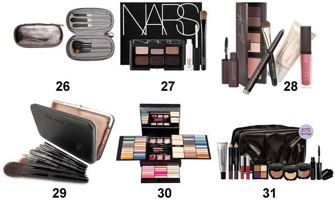 travel kit makeup, portable cosmetic brushes