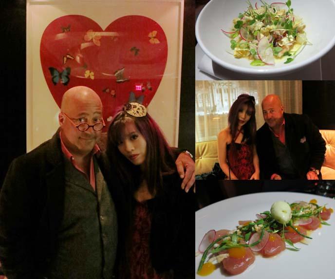 Andrew Zimmern, Travel Channel Bizarre Foods, restaurants, eating