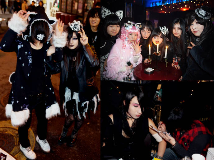 seoul goth clubbing, goth clubs