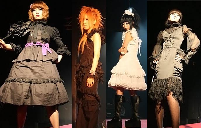 seoul, korea goth punk fashion, runway show