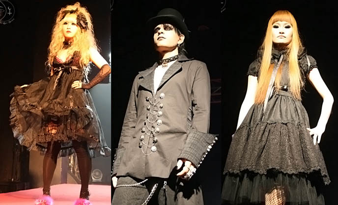 seoul, korea fashion week, models, asian goth girls