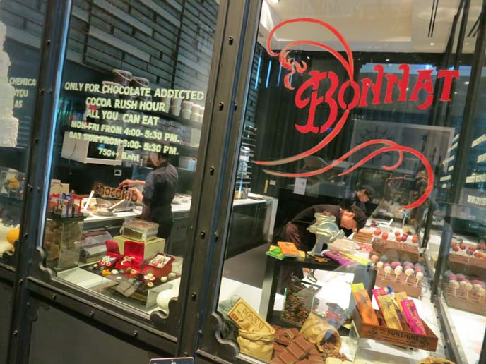 bonnat chocolate shop
