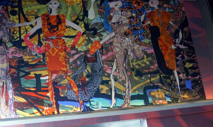 christian lacroix couture paintings