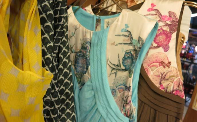 handmade thai dresses, fabrics