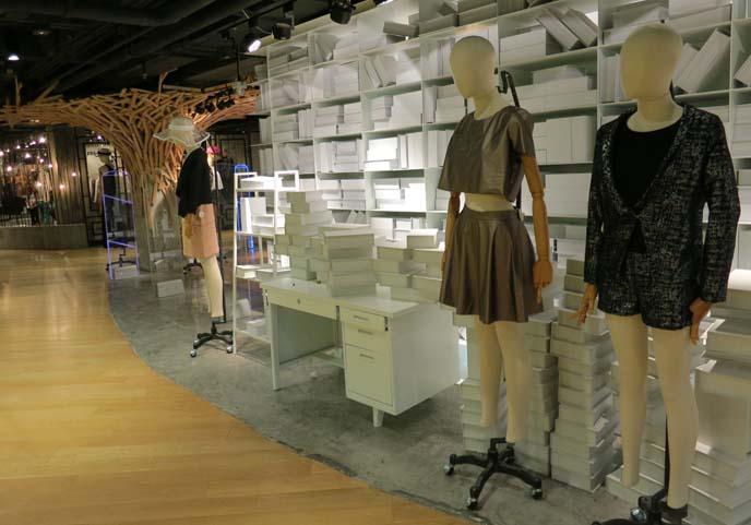 bangkok shopping mall, cool stores