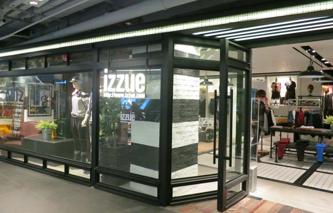 izzue clothing shop, thailand