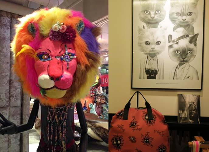 lion mask, cat posters