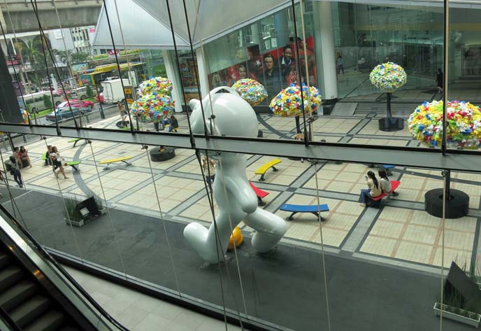 siam center mall, bangkok shopping