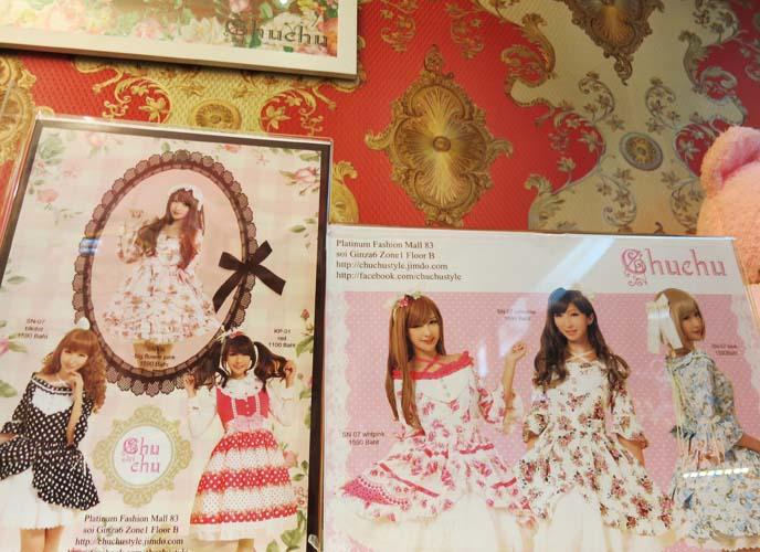 bangkok chuchu store, lolita designers