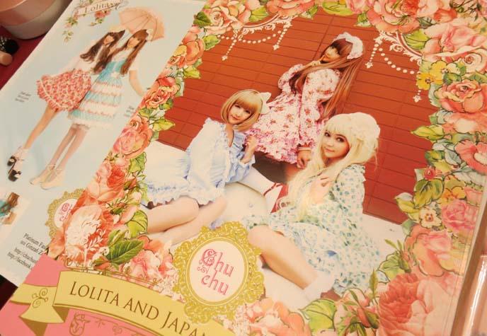 lolita japan fashion posters, street snaps