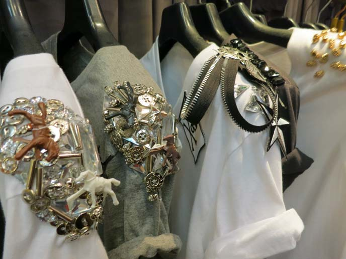 decorated shoulderpads
