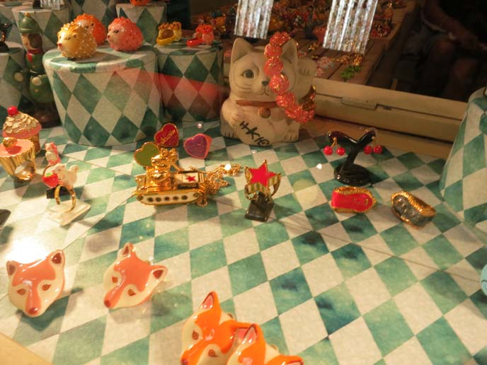 fox cufflinks, animal jewelry bangkok
