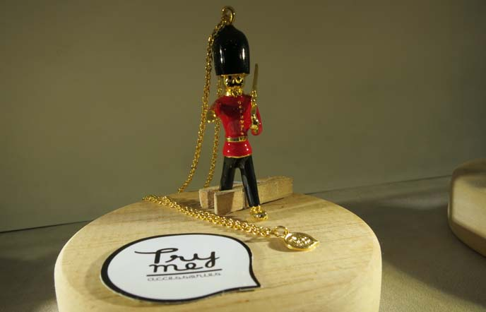 british queen's guard necklace