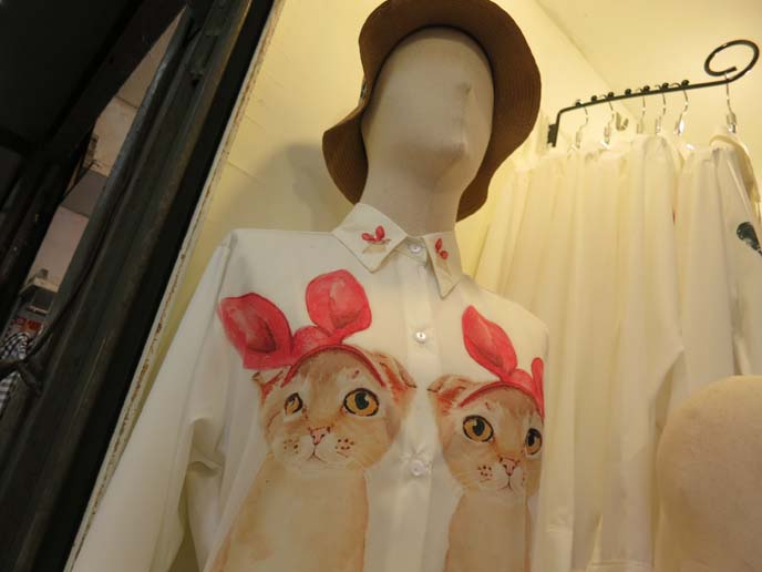 scottish fold cat shirt
