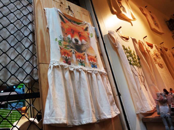 vintage fox dress
