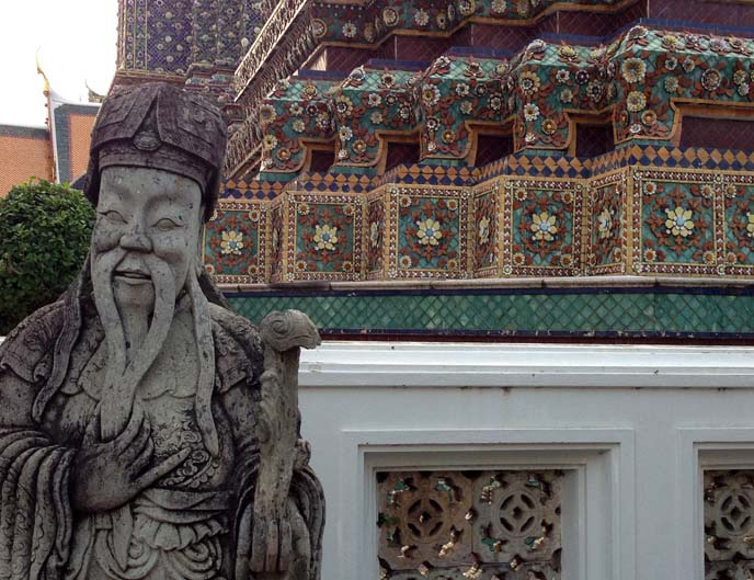 buddhist statues, bangkok thailand
