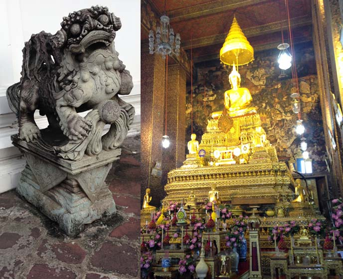 temple of golden buddha, buddhist altar