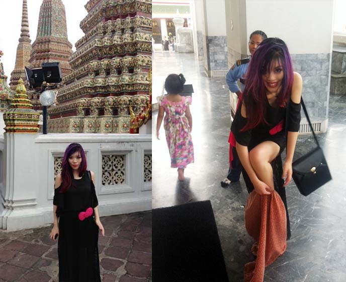wat pho dress code, temple rules