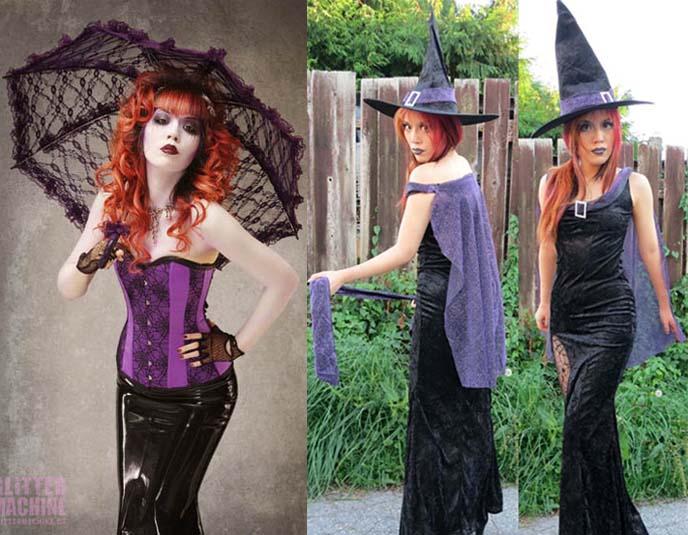 corpse bride makeup, costume, tutorial