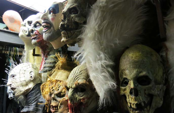 seattle costume rental, monster halloween masks