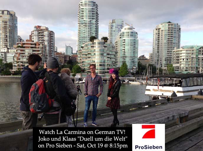 Joko und Klaas, Duell um die Welt, german tv hosts