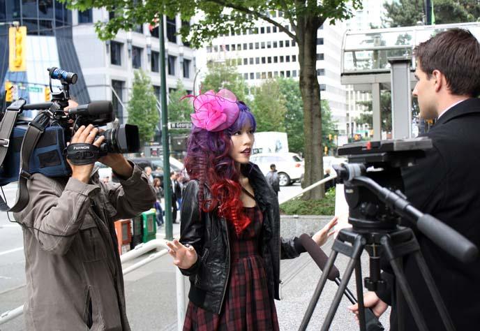 local news eyewitness report, interview witness tv