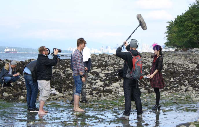 tv filming, circus halligalli