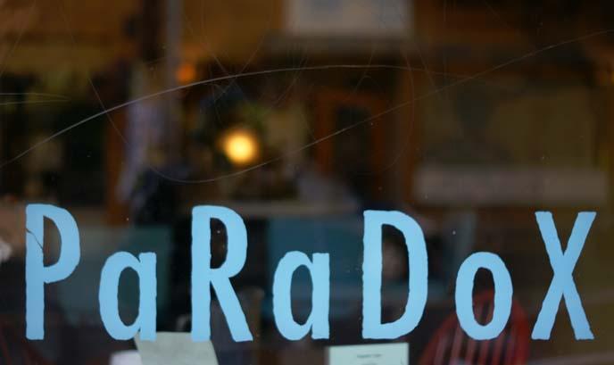 paradox vegan brunch, portland vegetarian cafe