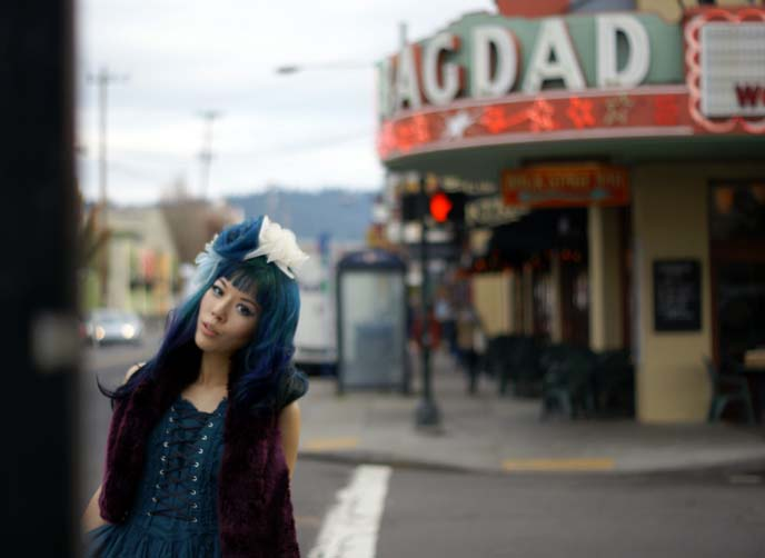 portland fashion blogger, bagdad theater hawthorne