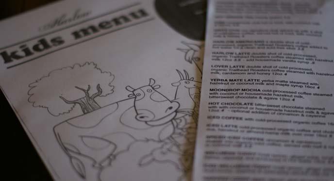 organic local gluten-free, harlow menu, vegetarian restaurant