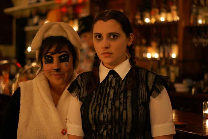 Wednesday Addams costume, halloween portraits