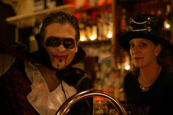 vampire man, witch costume