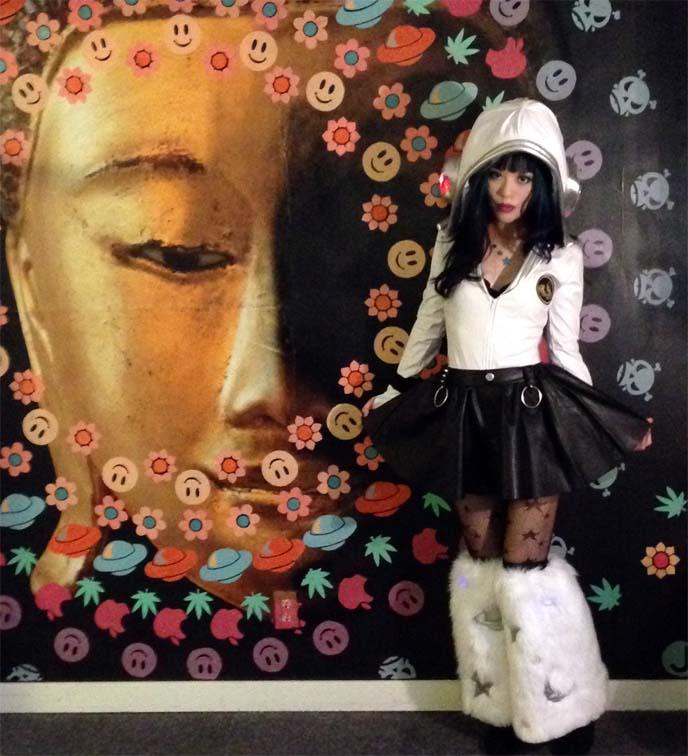 buddha mural, portland jupiter hotel
