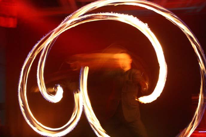 fire dancing motion