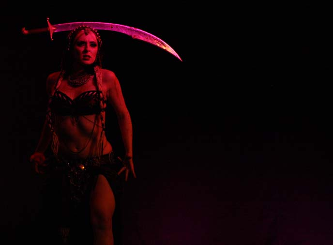 sword dancer, bellydance portland oregon