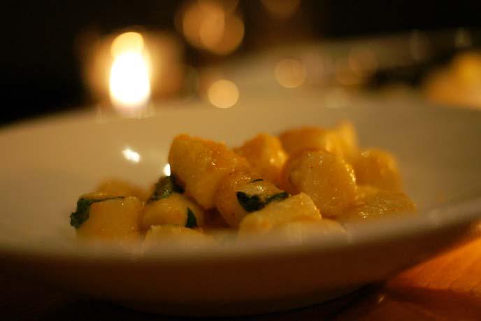 sea urchin gnocchi, jenn louis pasta