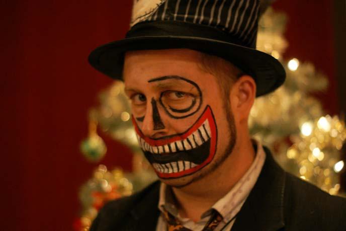 nightmare before christmas halloween makeup