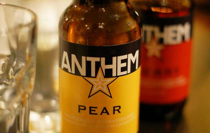 anthem brewing, apple cider beer