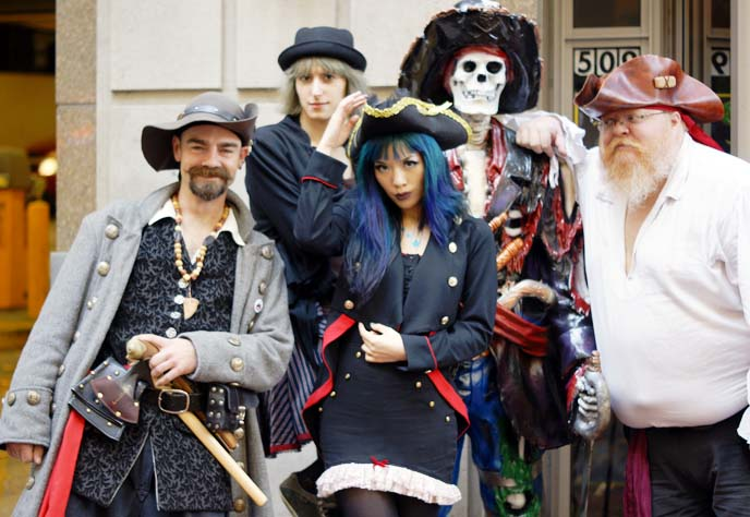 pirate crew, portland pirates cosplay