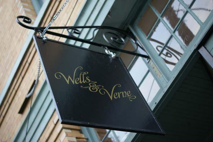 wells and verne, steampunk clothing portland