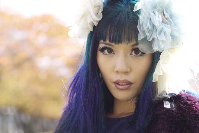 alternative model, goth girl
