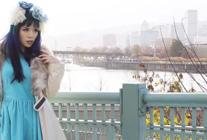 flower crown, japanese fashion