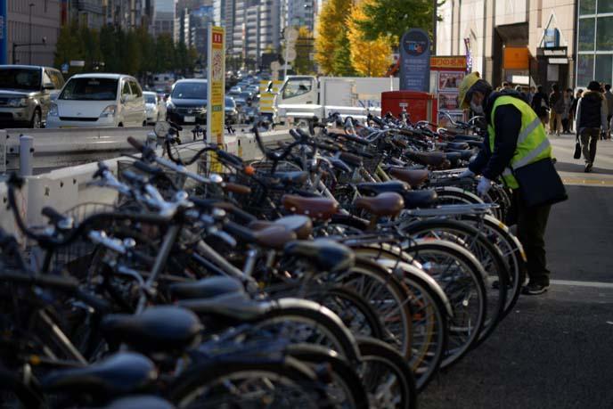tokyo bicycle rack