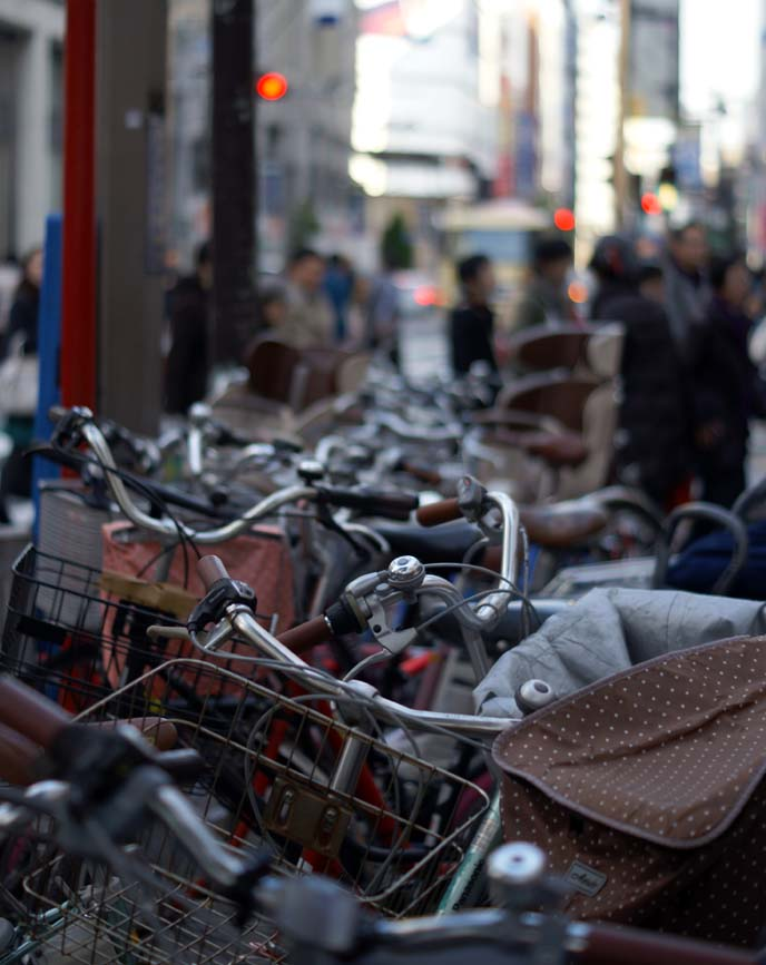 bicycle seats tokyo