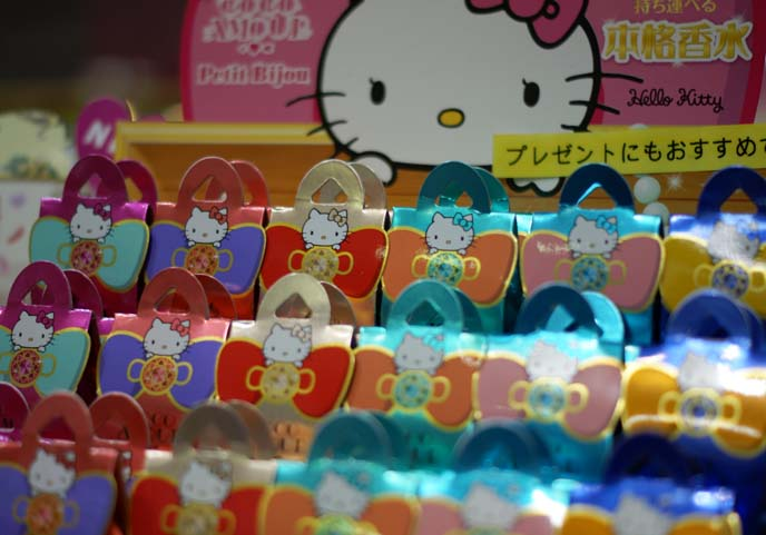 hello kitty perfume, makeup